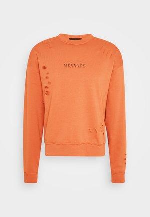DISTRESSED  - Sweatshirt - orange