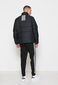 adidas Performance - 3 STRIPES INSULATED JACKET - Vinterjacka - black - 2