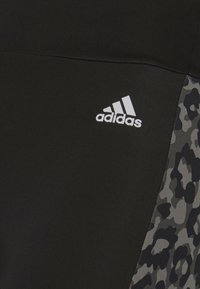 adidas Performance - BELIEVE THIS 2.0 LACE AEROREADY WORKOUT COMPRESSION 7/8 LEGGINGS - Tights - black/grey four - 5