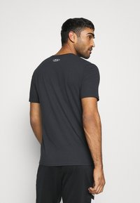 Under Armour - ROCK BRAHMA BULL - T-shirt z nadrukiem - black - 2