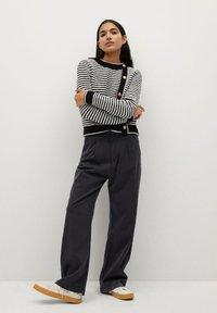 Mango - FILIPPO - Trousers - zwart - 1