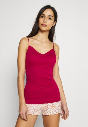 SEAMLESS SPAGHETTI - Undershirt - barberry