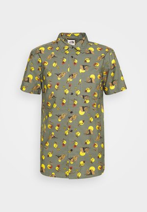 BAYTRAIL PATTERN - Shirt - olive