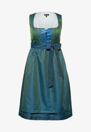 Dirndl - blau grün