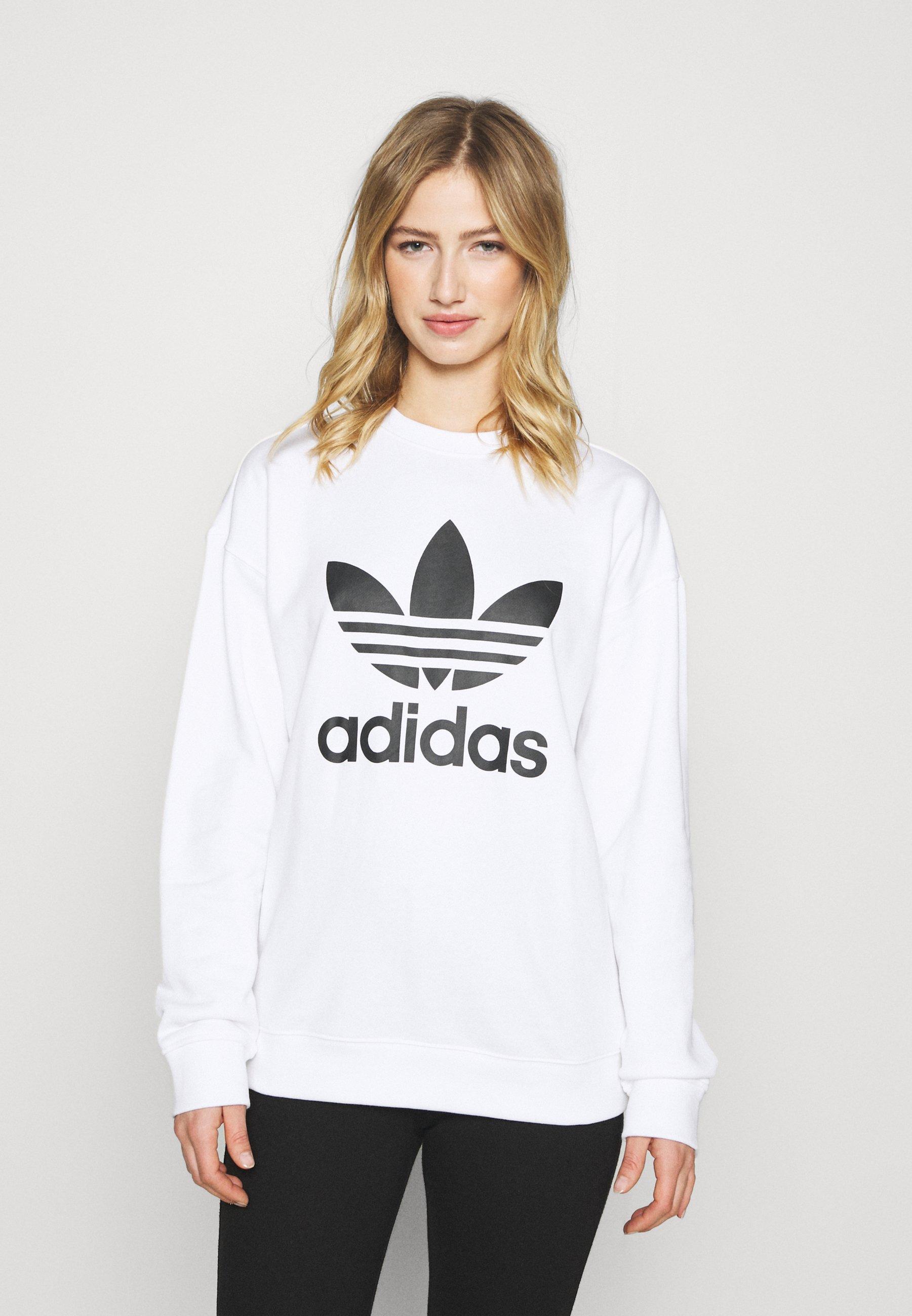 Women ADICOLOR TREFOIL LONG SLEEVE - Sweatshirt