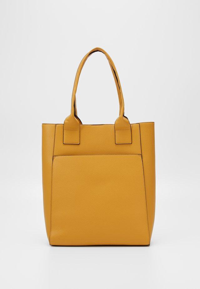 Shopper - dark yellow