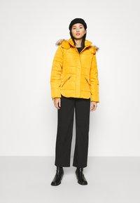 Esprit - JACKET - Winter jacket - brass yellow - 1