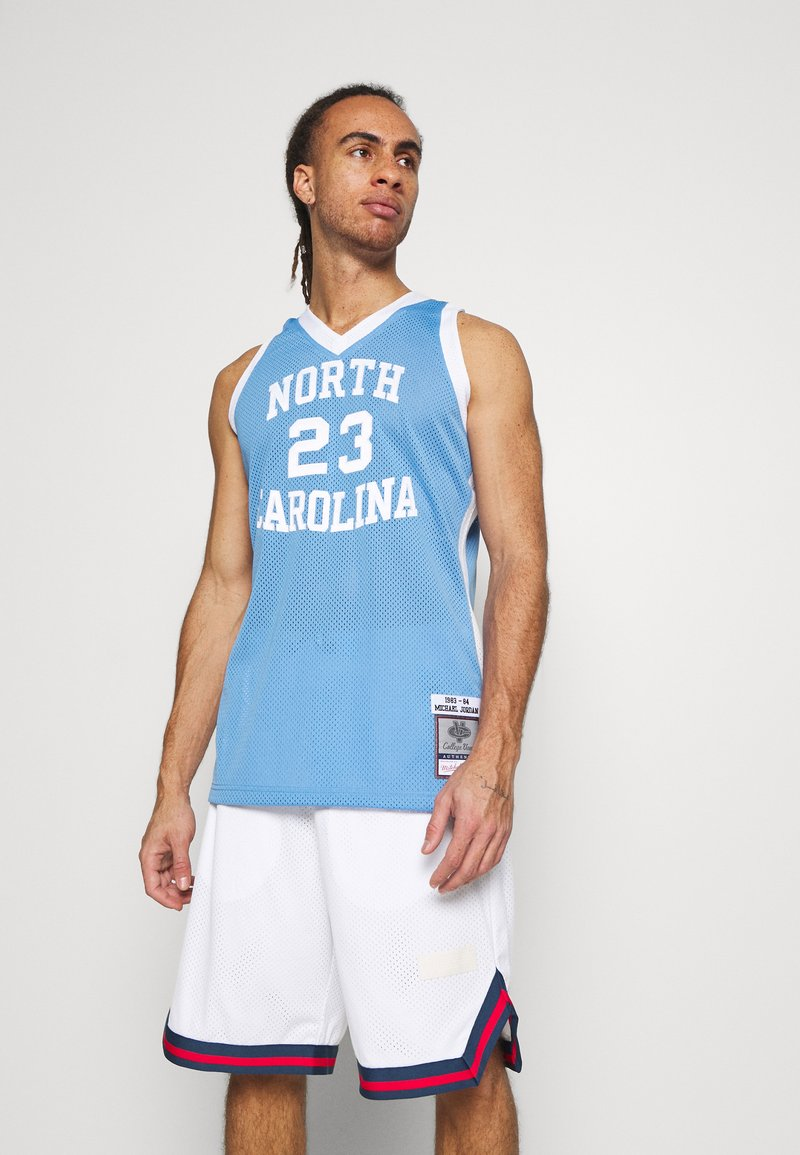 Mitchell & Ness - MICHAEL JORDAN NORTH CAROLINA - Article de supporter - light blue