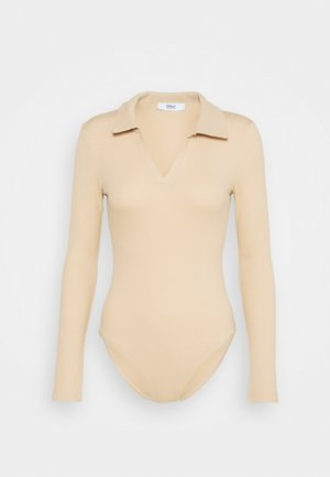 ONLJESSICA BODY - Long sleeved top - ginger root
