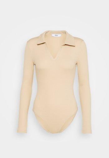 ONLJESSICA BODY - Long sleeved top - ginger root