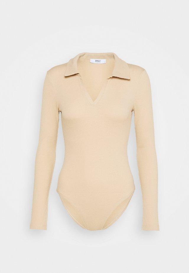ONLJESSICA BODY - T-shirt à manches longues - ginger root