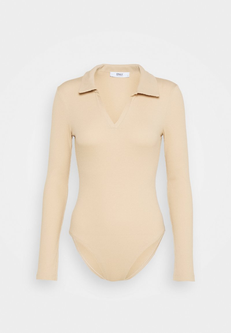 ONLY - ONLJESSICA BODY - Long sleeved top - ginger root