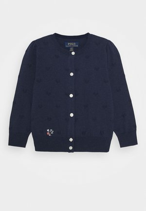 Cardigan - spring navy heather
