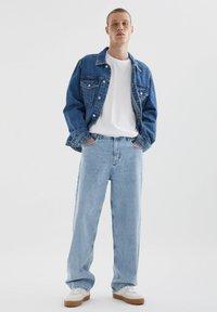 PULL&BEAR - Straight leg jeans - blue denim - 1