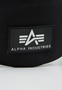 Alpha Industries - PRINT WAISTBAG - Ledvinka - black - 7