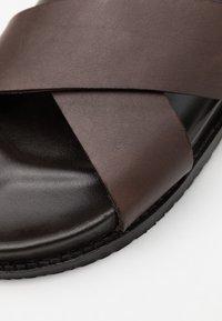 Zign - Pantofle - dark brown - 5