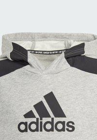 adidas Performance - BADGE OF SPORT ATHLETICS SWEATSHIRT HOODIE - Hoodie - grey - 4