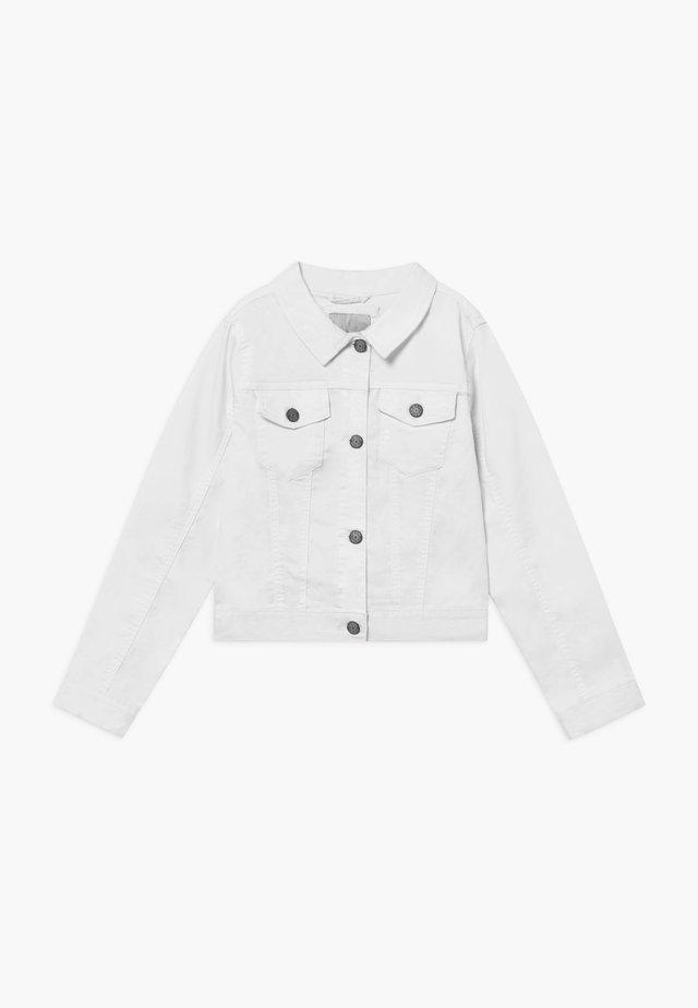 ALIDA - Jeansjakke - white