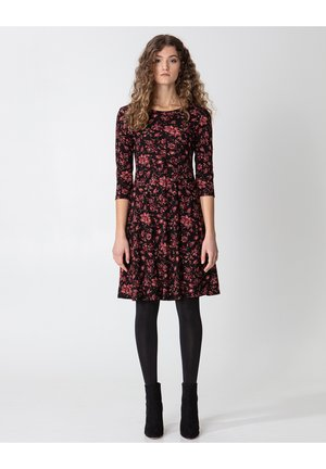 BERRY  - Jersey dress - multi