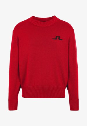 BECKERT - Pullover - chili red