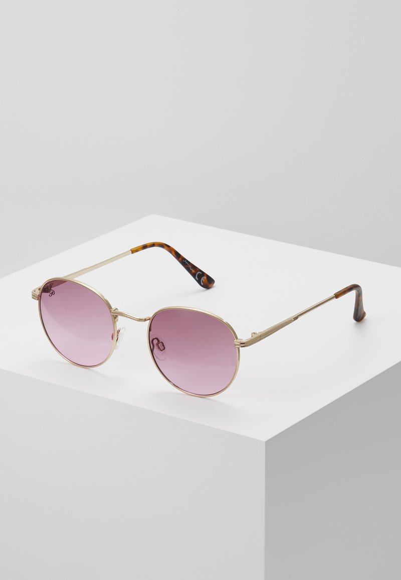 Jeepers Peepers - Sunglasses - gold/pink lens