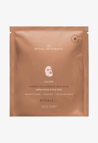 Rituals - THE RITUAL OF NAMASTÉ GLOW RADIANCE SHEET MASK - Face mask - - - 0