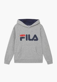 Fila - ANDREA CLASSIC LOGO HOODY - Jersey con capucha - light grey melange - 0