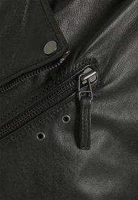 Oakwood - SOLDIER - Leather jacket - black - 9