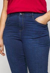Dorothy Perkins Curve - ELLIS SKINNY - Jeans Skinny Fit - mid was denim - 4