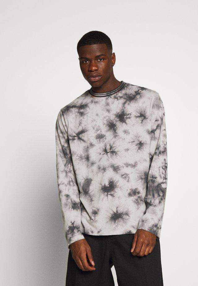 TWO TONE - Maglietta a manica lunga - grey