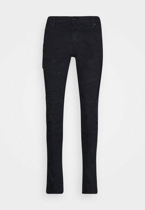AIR BLAZE 3D SKINNY ORIGINALS - Jeans Skinny Fit - slander r superstretch - black metalloid cobler