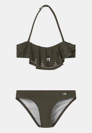 BANDEAU SET - Bikini - olive