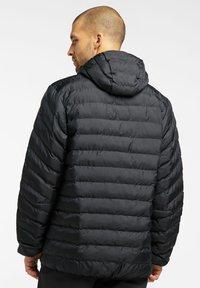 Haglöfs - SÄRNA MIMIC HOOD - Winter jacket - true black - 1