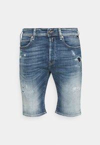 Replay - AGED ECO - Denim shorts - medium blue - 3