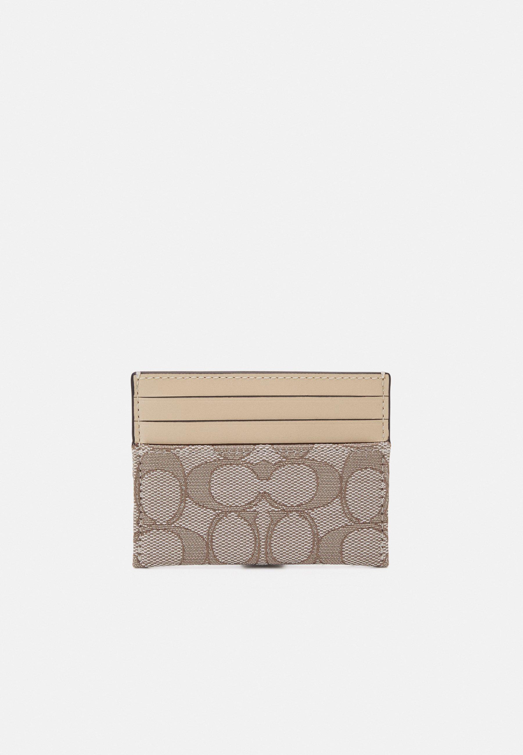 Donna SIGNATURE FLAT CARD CASE - Portafoglio