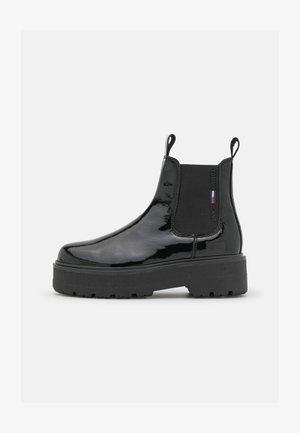 CHELSEA BOOT - Platform ankle boots - black