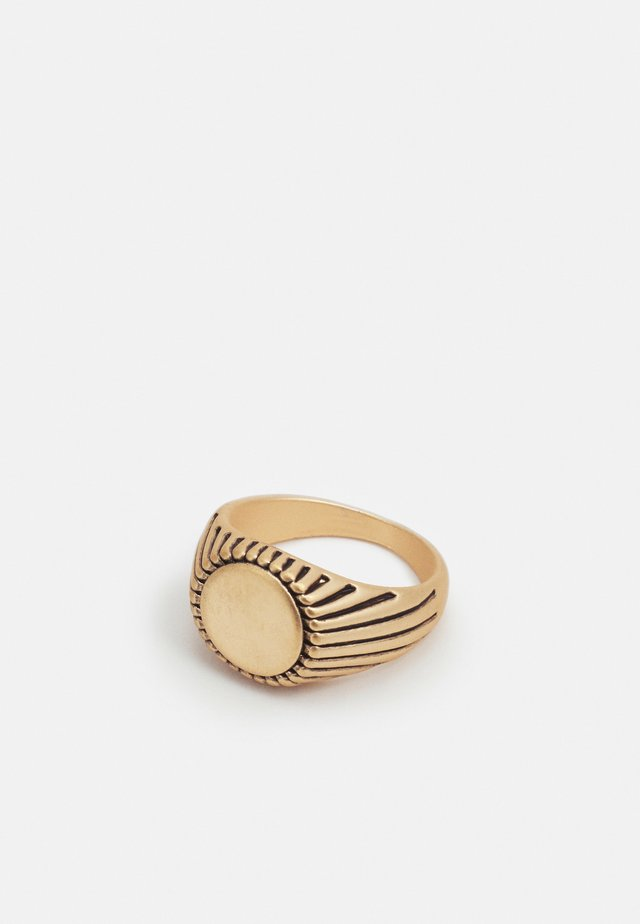 ENGRAVED SIGNET - Ring - gold-coloured