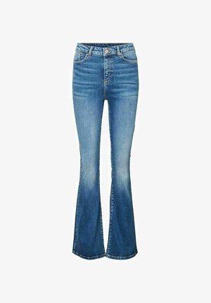 VMSIGA  - Jeans a zampa - medium blue denim