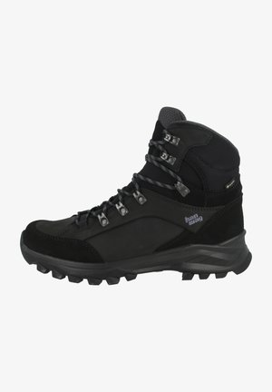 BANKS  - Hiking shoes - black/asphalt