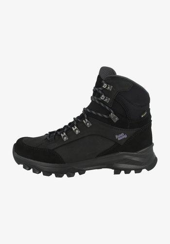 BANKS  - Hiking shoes - black/asphalt