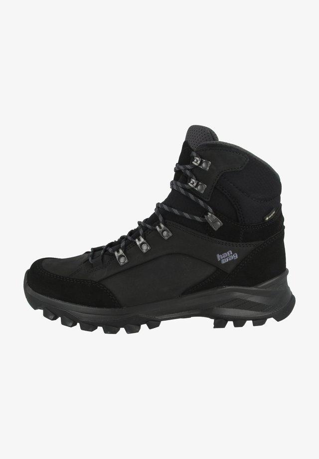 BANKS GTX - Hiking shoes - black/asphalt