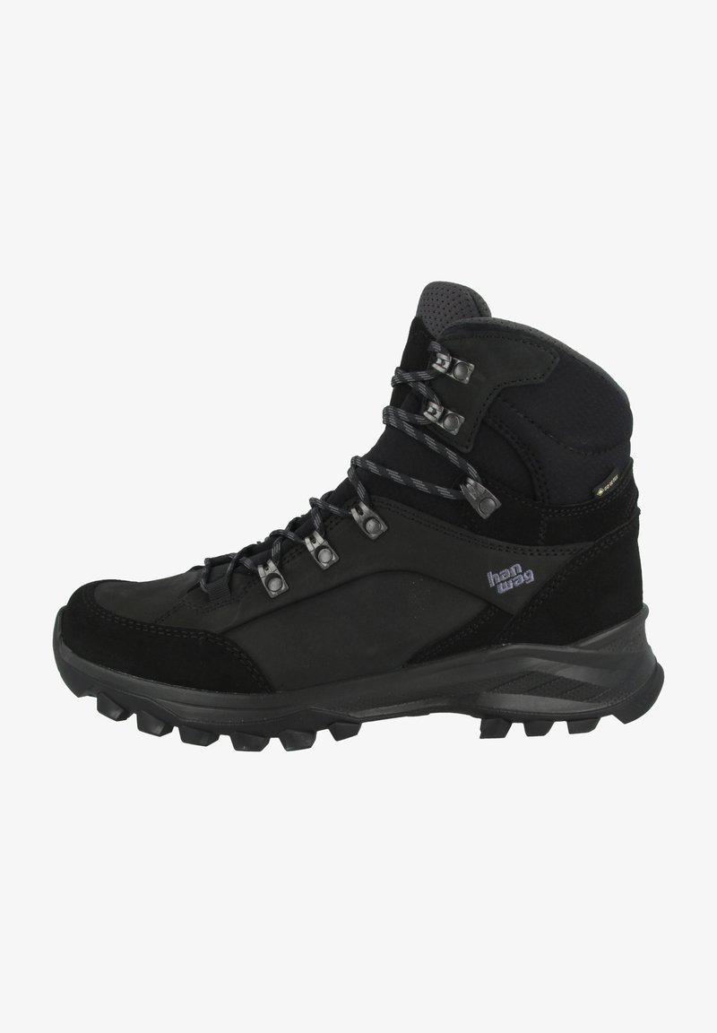 Hanwag - BANKS  - Hiking shoes - black/asphalt