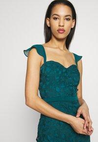 Chi Chi London - LUPITA DRESS - Suknia balowa - teal - 3
