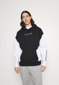 Hollister Co. - MOTO CHASE - Sweatshirt - black - 0