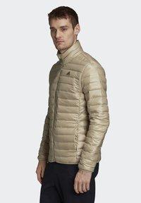 adidas Performance - VARILITE OUTDOOR DOWN - Down jacket - beige - 3