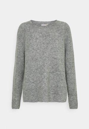 ANA - Strikpullover /Striktrøjer - medium grey melange