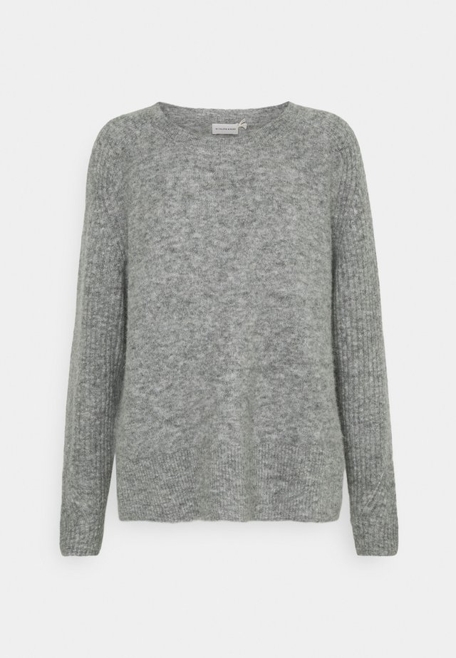 ANA - Sweter - medium grey melange