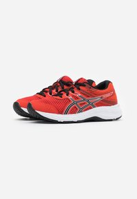 ASICS - CONTEND 6 - Neutral running shoes - fiery red/black - 1