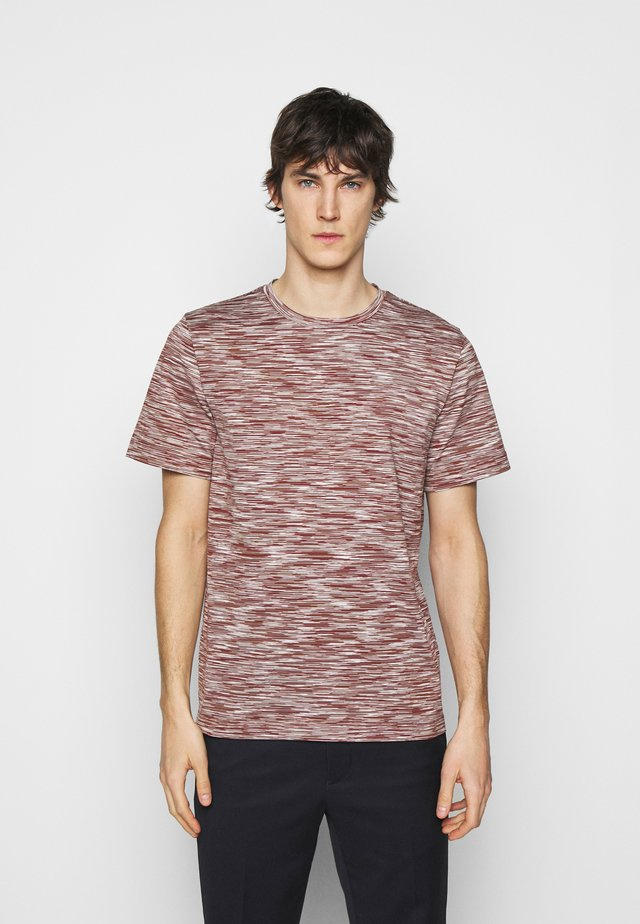 MANICA CORTA - T-shirt print - brown