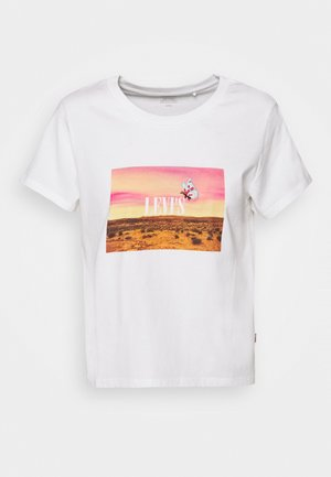 GRAPHIC SURF TEE - T-shirt con stampa - white